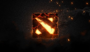 Dota 2 logo HD wallpaper