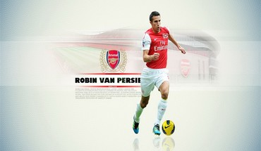 Soccer robin van persie HD wallpaper