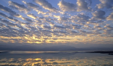 Israel dead sea sunrise HD wallpaper