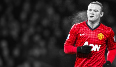 Rooney premier league stars cutout football player HD wallpaper