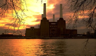Buildings battersea power station HD wallpaper