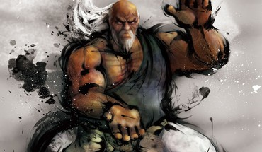 Video games street fighter animation HD wallpaper