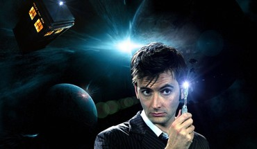 Tardis David Tennant Arzt, der zehnte Sonic Screwdriver  HD wallpaper