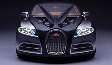Bugatti galibier concept black cars HD wallpaper