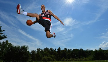 Nba basketball rookies portland trailblazers HD wallpaper