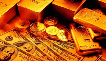 Metal gold golden crisis dollar bills noble financial HD wallpaper
