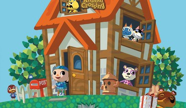 Nintendo animal crossing maison de gamecube  HD wallpaper