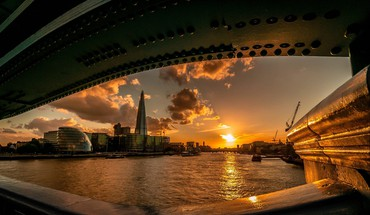 Sunset cityscapes london vietos  HD wallpaper