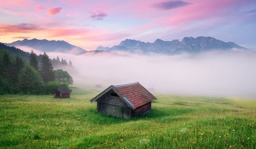 Germany meadow alps HD wallpaper