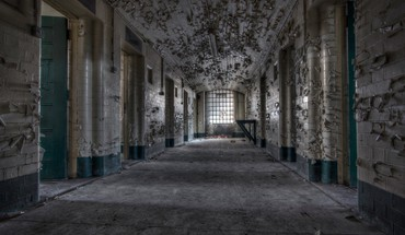 Ruins architecture buildings prison abandoned jail HD wallpaper