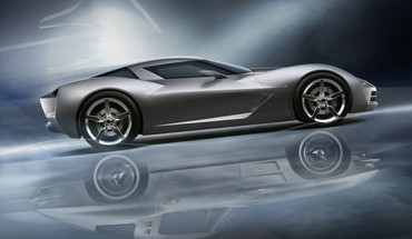 concept-cars Chevrolet stingray véhicules  HD wallpaper