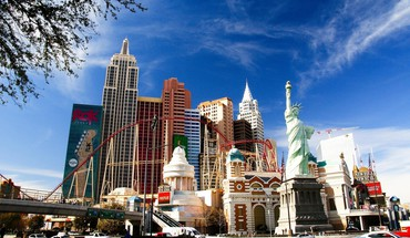 Las vegas architecture buildings HD wallpaper