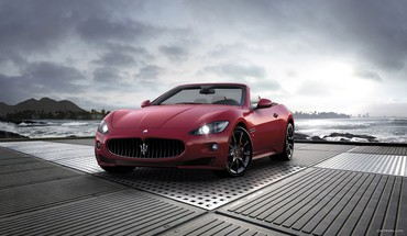 Maserati grancabrio cars vehicles HD wallpaper