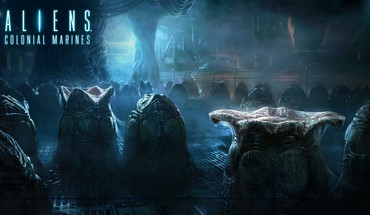 Fiction parasite nest aliens pc colonial marines HD wallpaper