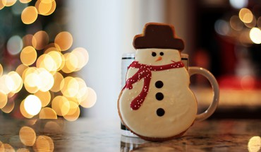 Cups christmas HD wallpaper