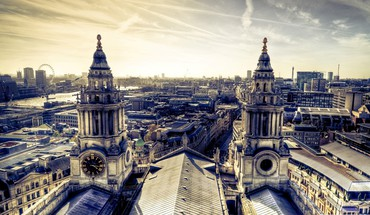 London panorama HD wallpaper