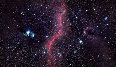 Outer space stars galaxies nebulae mystery m78 HD wallpaper