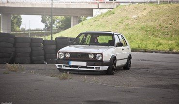 Golfas volkswagen II VR6  HD wallpaper