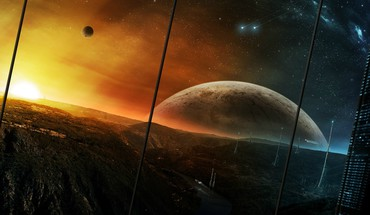Planet fall HD wallpaper