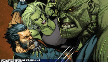 Hulk (comic character) comics wolverine she marvel HD wallpaper