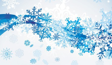 Winter snow scatter HD wallpaper