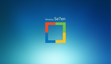 """Windows 7"" logotipas 8  HD wallpaper"