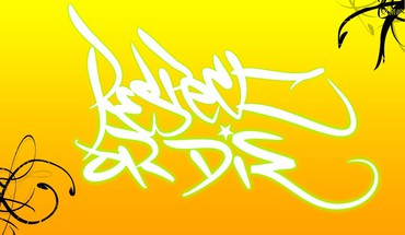 blanc graffitis jaune HD wallpaper