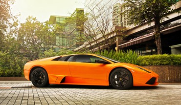 Automobiliai Lamborghini Murcielago lp640  HD wallpaper