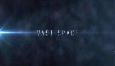 Abstract outer space text HD wallpaper