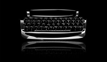 Dark typewriter HD wallpaper