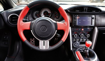 Steering wheel 3d gt86 ft-86 gt 86 HD wallpaper