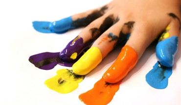 Colors hands multicolor paint paintings HD wallpaper