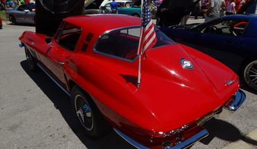 The All American Corvette  HD wallpaper