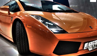 Lamborghini gallardo orange cars HD wallpaper