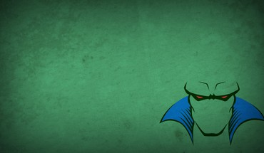 Justice league martian manhunter green background blo0p HD wallpaper