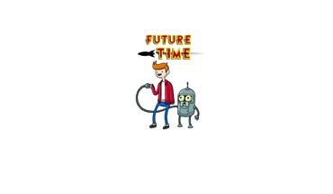 Futurama cartoons adventure time HD wallpaper