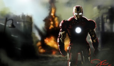 Iron man marvel HD wallpaper