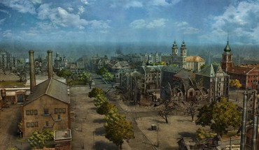 Europe world of tanks cityscapes HD wallpaper