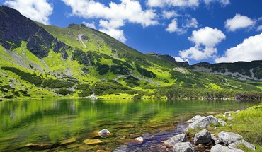 Poland mountains valleys HD wallpaper
