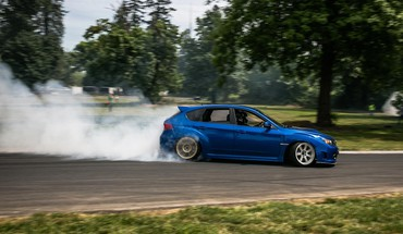 Cars subaru sti drift HD wallpaper