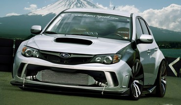 Tuning subaru impreza wrx jdm sti HD wallpaper