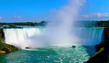 Landscapes nature canada niagara falls waterfalls HD wallpaper