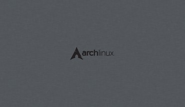 Linux arch grey background operational sistem HD wallpaper