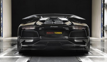 Lamborghini aventador cars wind tunnel HD wallpaper