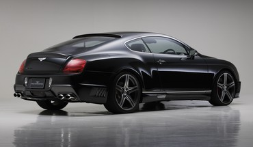 Black cars sports line bison bentley continental gt HD wallpaper