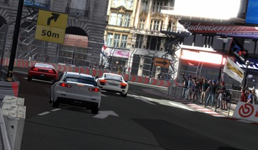 Gran turismo 5 ps3 lancer evo x HD wallpaper