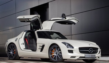 Cars mercedes-benz sls amg e-cell HD wallpaper