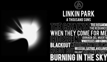 Text linkin park typography black background HD wallpaper