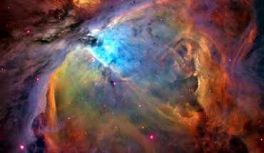 Outer space stars nebulae orion galaxy nebula HD wallpaper