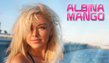 Blondes women faces albina mango HD wallpaper